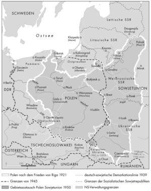 Polen 1921 bis 1950