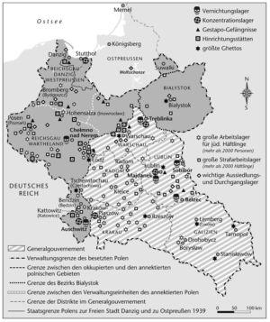 Polen 1940 bis 1944