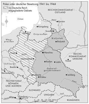 Polen 1941 bis 1944