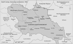 Todeslager im Generalgouvernement 1942