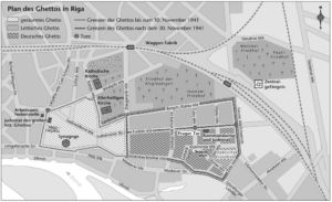 Ghetto in Riga 1941