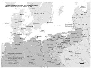 Deutsche Gebiete an der Ostsee