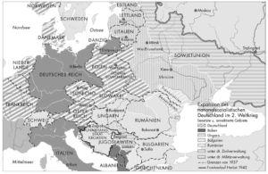 Europa 1937 und 1942