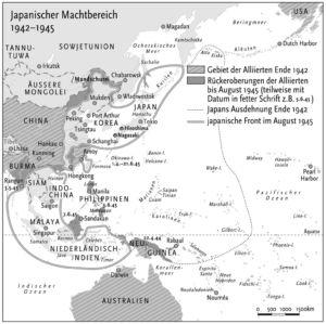Krieg im Pazifik 1942 bis 1945