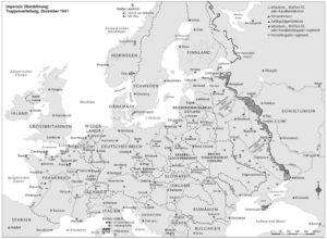 Truppenverteilung in Europa 1941