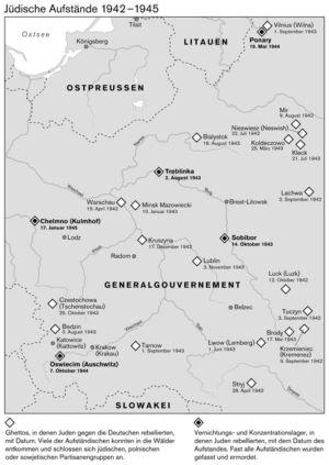 Generalgouvernement 1942 bis 1945