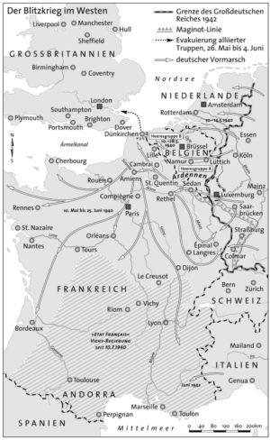 Frankreich 1942