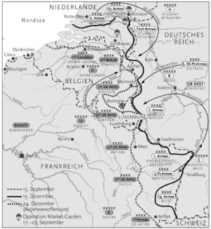 Westeuropa 1944