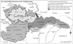 Tschechoslowakei 1938 bis 1939