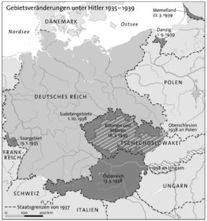Deutsches Reich 1935 bis 1939