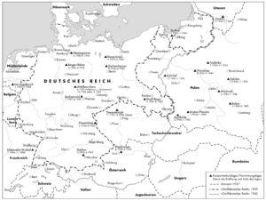 Deutsches Reich 1937 bis 1942