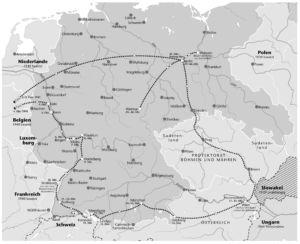Besuch franz. Schriftsteller im Deutschen Reich 1941
