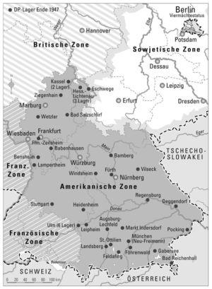 Amerikanische Zone 1947