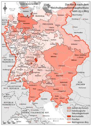 Reichsdeputationshauptschluss 1803