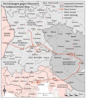 Österreich und Süddeutschland 1809
