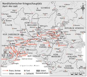 Norditalien 1796