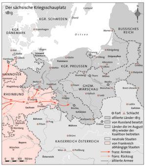 Preußen und Sachsen 1813