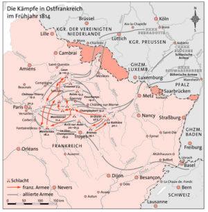Ostfrankreich 1814