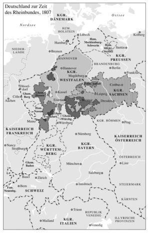 Rheinbund 1807