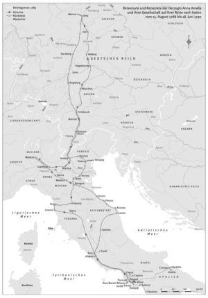 Anna Amalias Reise 1788 bis 1790