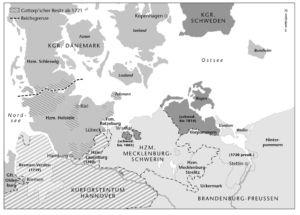 Schleswig und Mecklenburg 1720