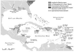 Karibik im 17. Jahrhundert