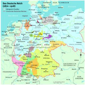 Deutsches Reich 1870 bis 1918