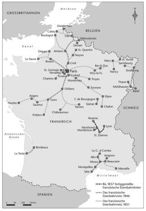 Frankreich Eisenbahn