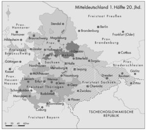 Sachsen und Thüringen 1830