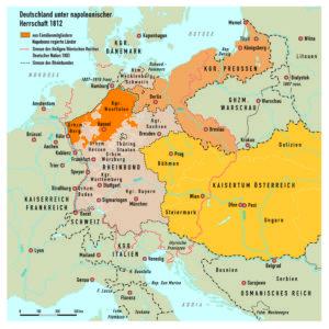 Rheinbund und Preußen 1812