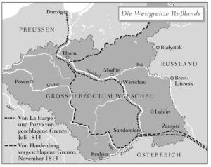 Großherzogtum Warschau 1814