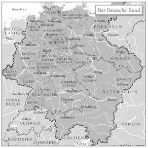 Deutscher Bund 1815