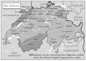 Schweiz 1815