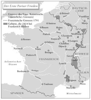 Frankreich 1814