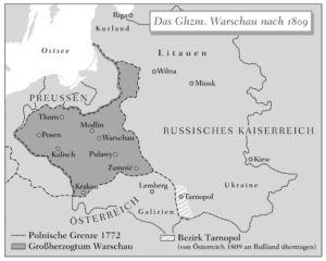 Großherzogtum Warschau 1809