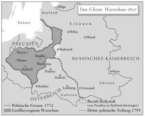 Großherzogtum Warschau 1807