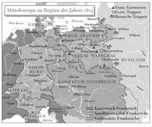Mitteleuropa 1813