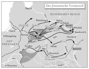 Napoleons Vormarsch 1812