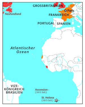 Sankt Helena 1815