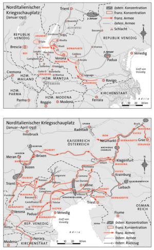 Norditalien 1797