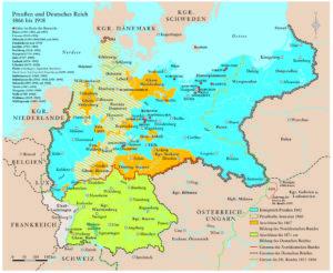 Deutsches Reich 1862 bis 1918