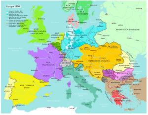 Europa 1890