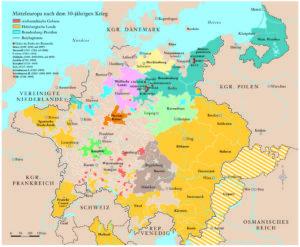 Mitteleuropa nach 1648