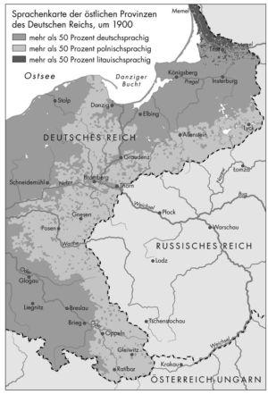 Sprachen um 1900