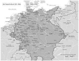 Deutscher Bund 1815 bis 1866