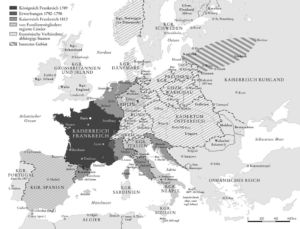 Europa 1789 bis 1812