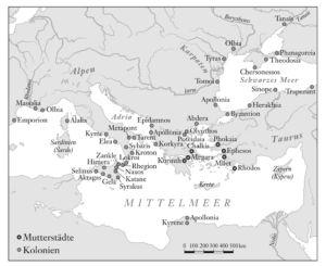 Griechen im Mittelmeer