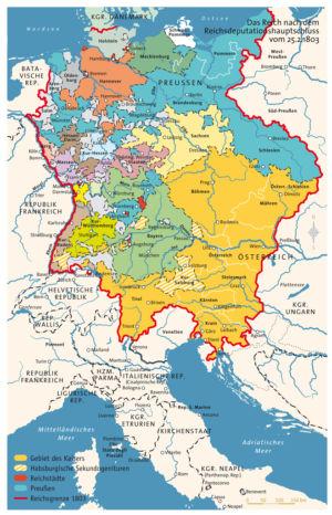 Heiliges Römisches Reich 1803