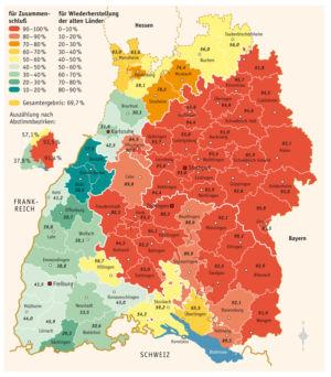 Baden-Württemberg 1951