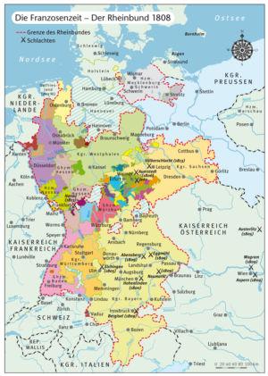 Rheinbund 1808